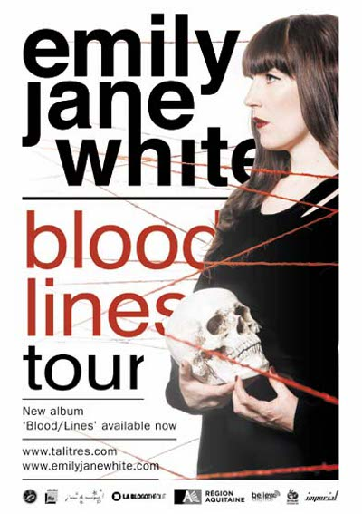 Flyer, Emily Jane White